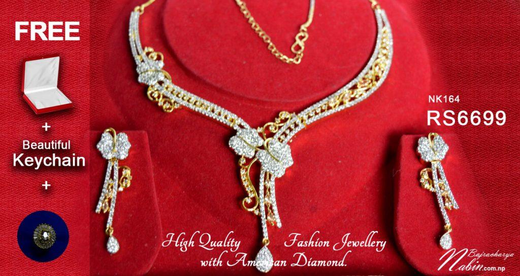 Beautiful American Diamond Jewellery in Nepal