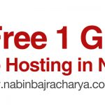 Get a Free 1 GB Hosting in Nepal – Free Web Hosting in Nepal, 100% Cash Back